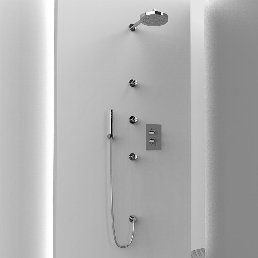 AM001 ambiente doccia tondo