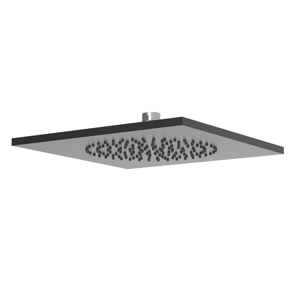 Soffione doccia quadrato in alluminio