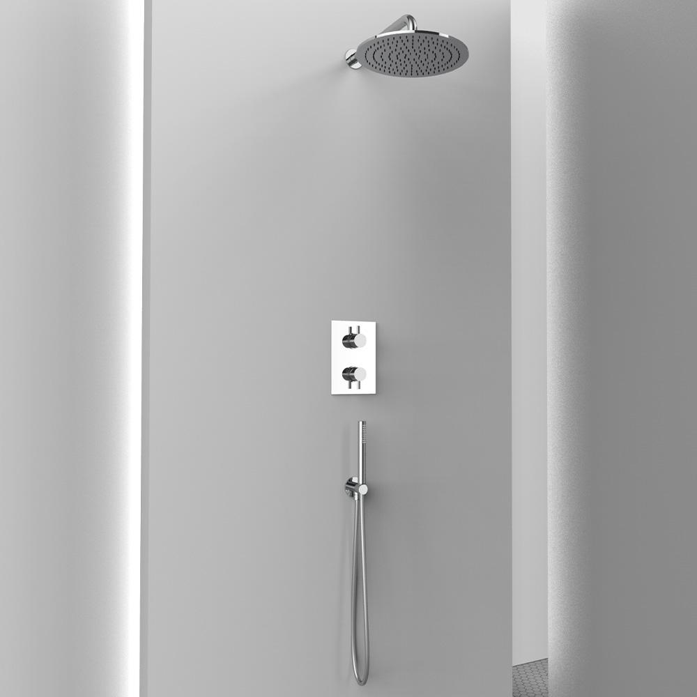 AM020M ambiente doccia completo tondo
